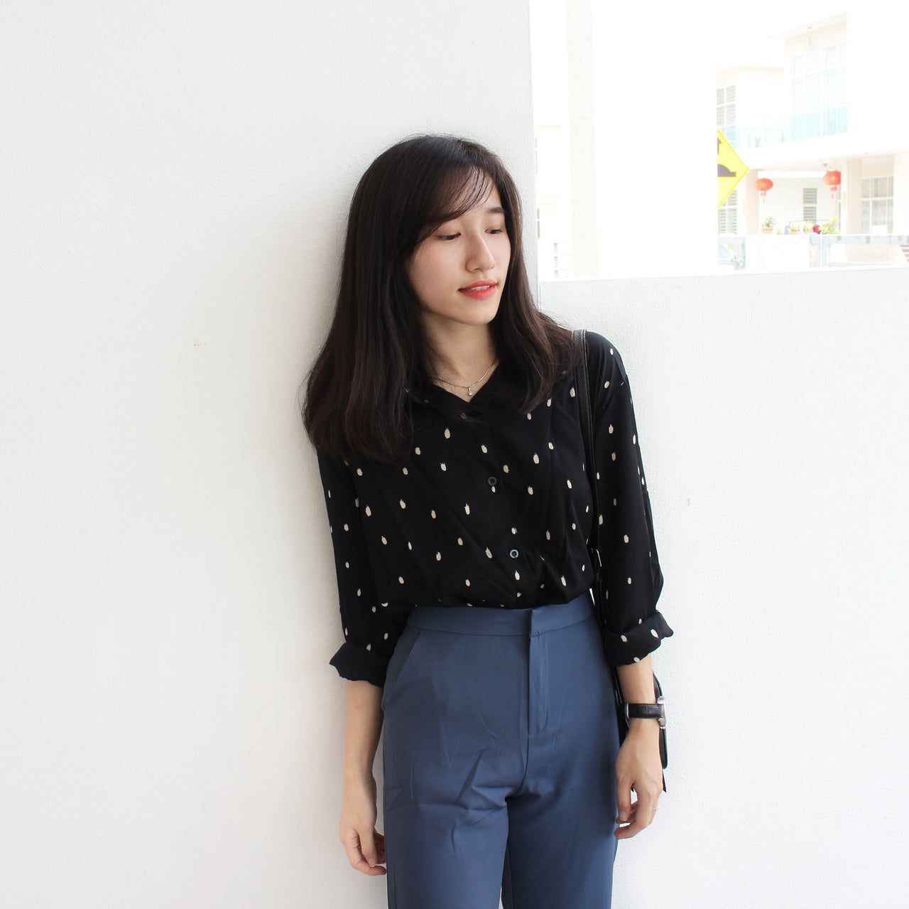 Karina Vintage Blouse - LovelyMadness Clothing Online Fashion Malaysia