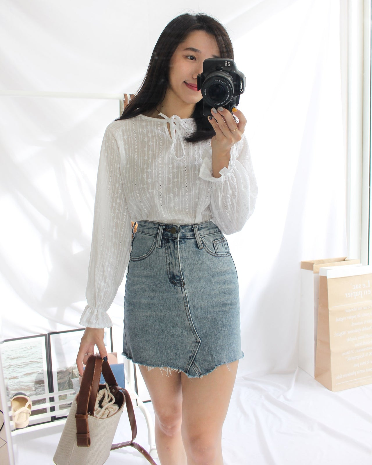 Stella Lace Blouse - LovelyMadness Clothing Online Fashion Malaysia