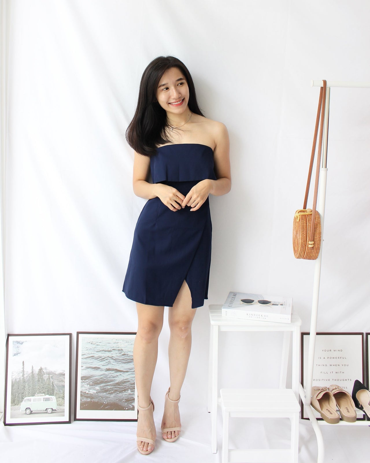 Mya Tube Dress - LovelyMadness Clothing Online Fashion Malaysia