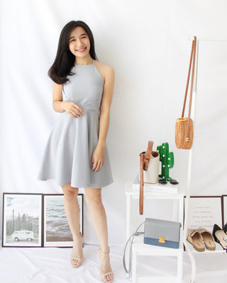 Mira Flare Dress - LovelyMadness Clothing Online Fashion Malaysia