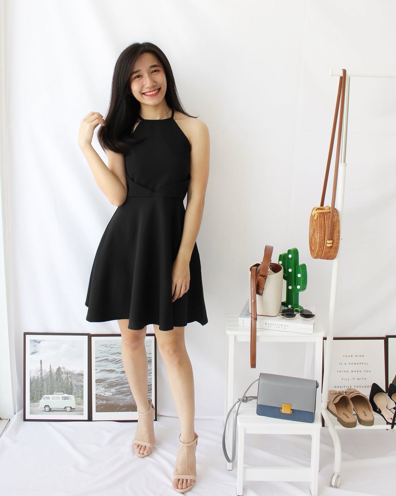 Mira Flare Dress - Lovely Madness