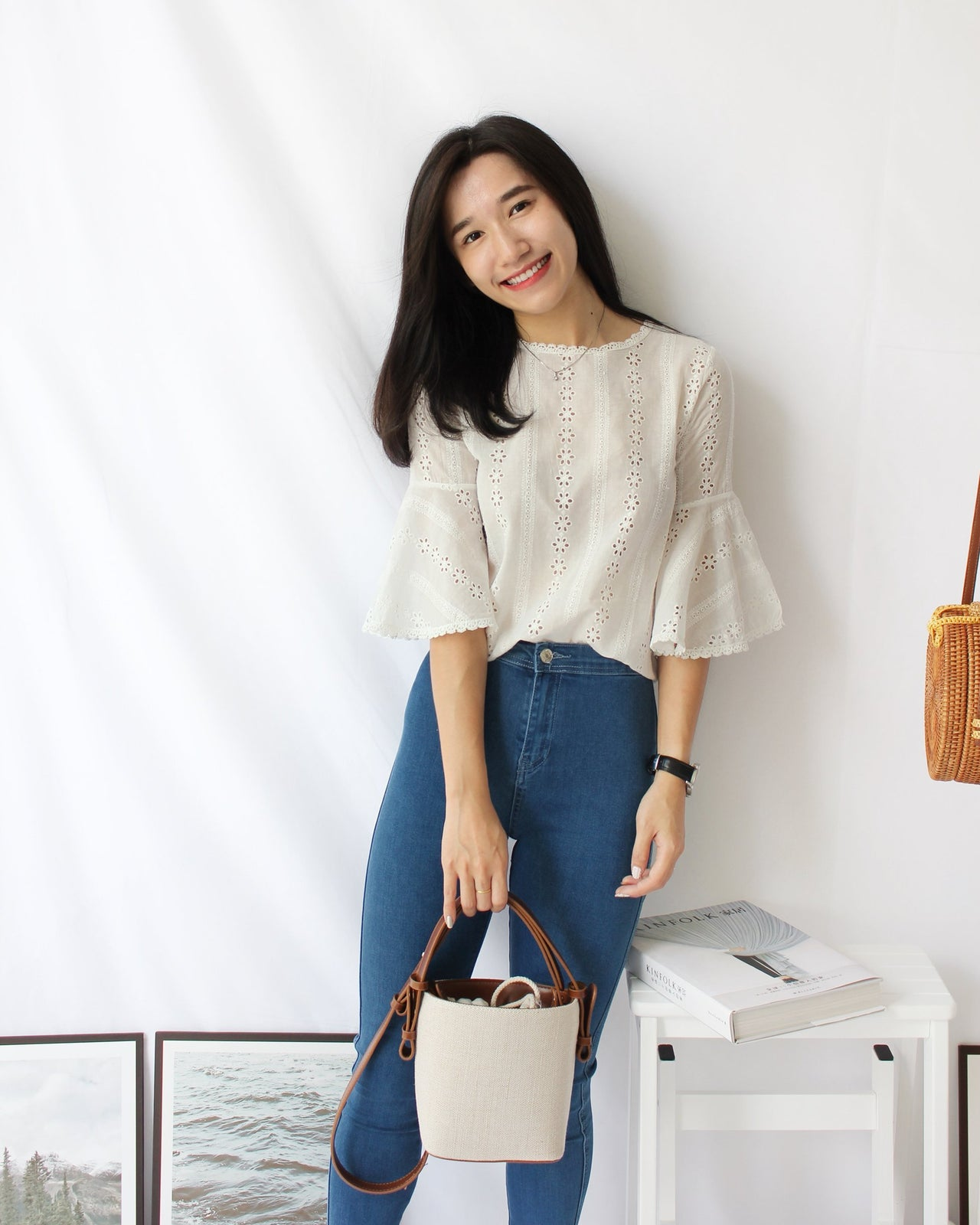 Crochet Flare Top - LovelyMadness Clothing Online Fashion Malaysia