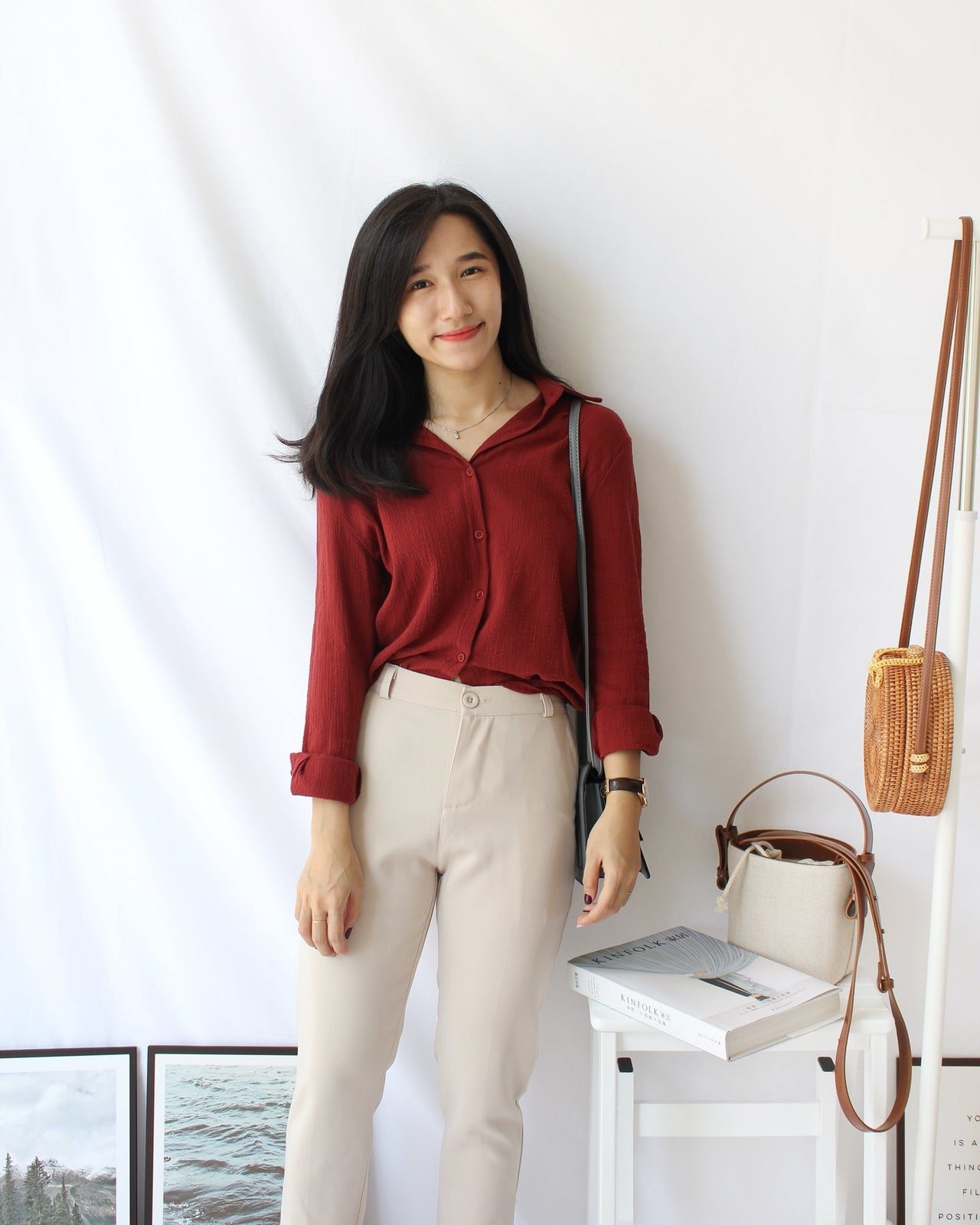 Sandra Collar Blouse