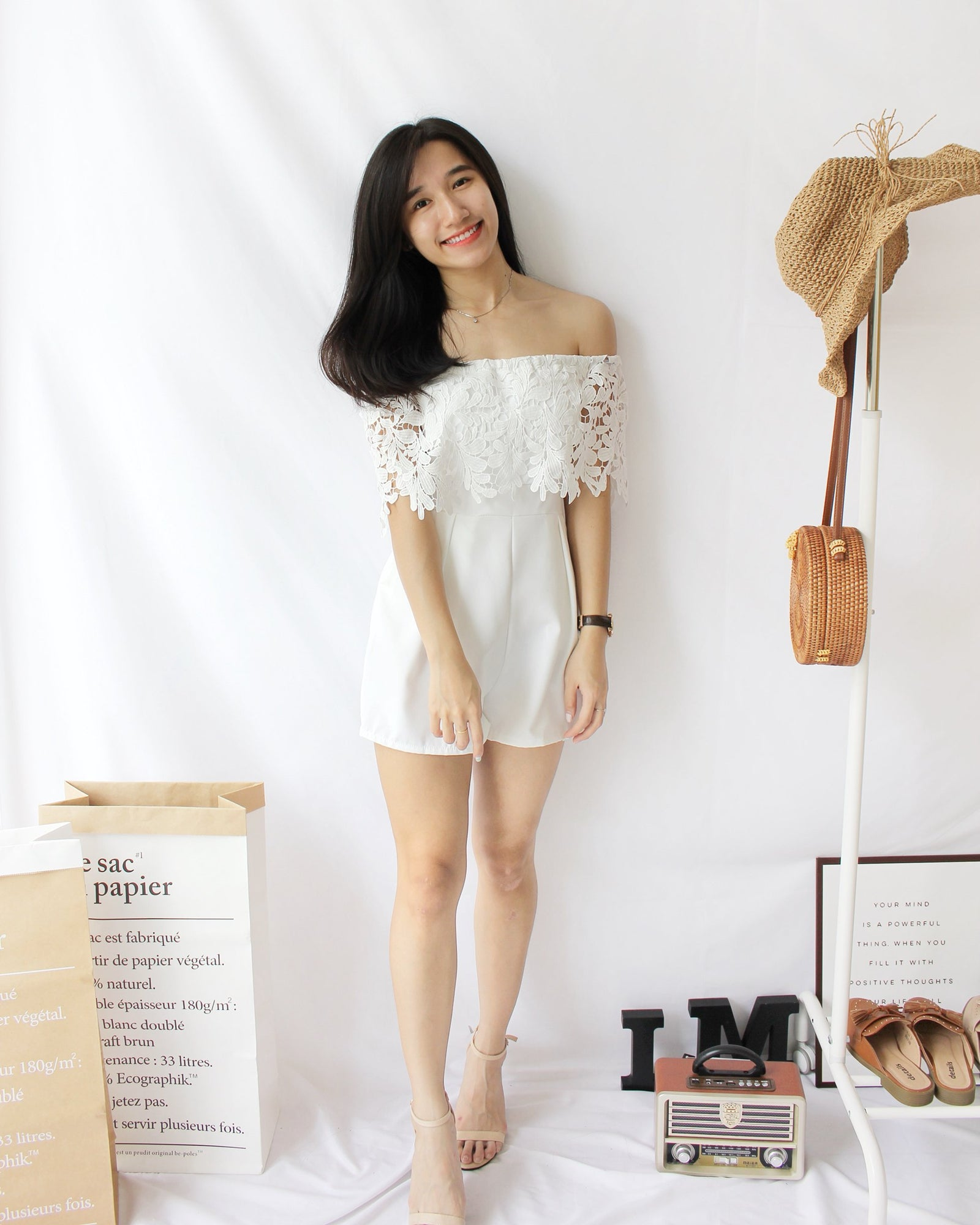 Lacey Romper - Lovely Madness