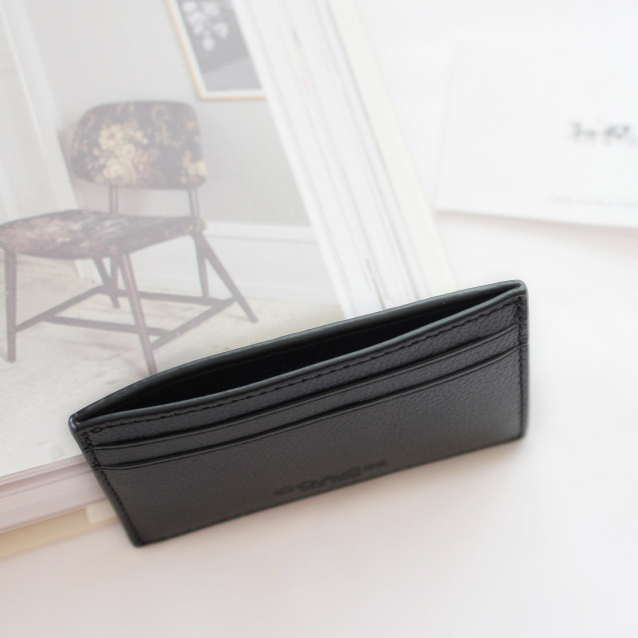 COACH MONEY CLIP CARD CASE IN CALF LEATHER - Lovely Madness