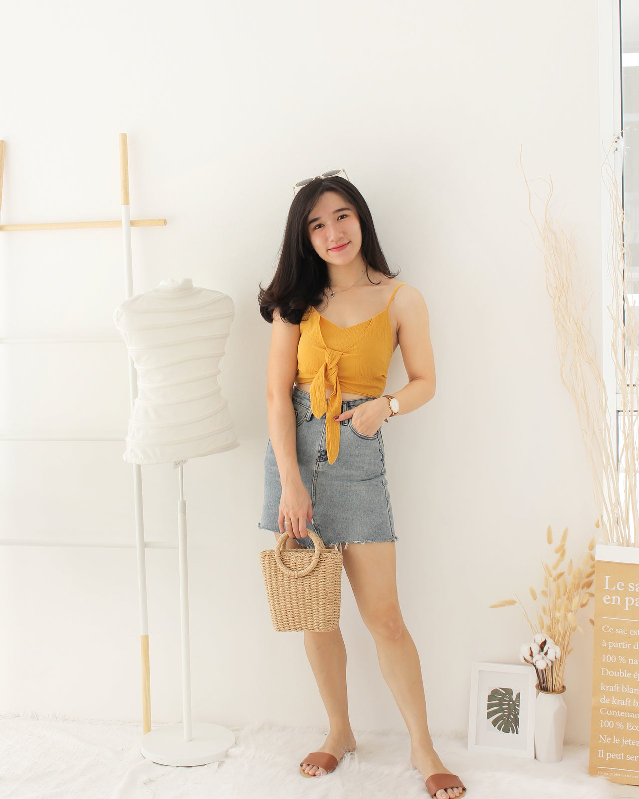 Ribbon Knot Tank - LovelyMadness Clothing Online Fashion Malaysia