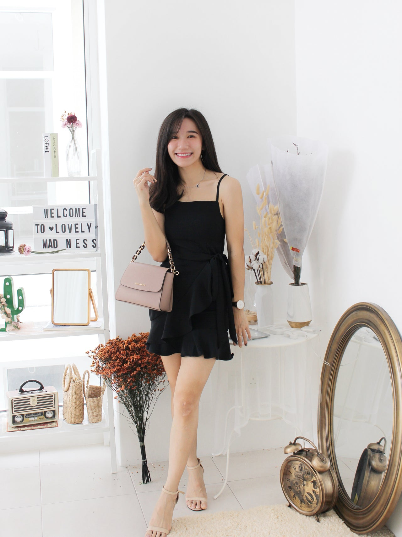 Tulips Wrap Dress - LovelyMadness Clothing Online Fashion Malaysia