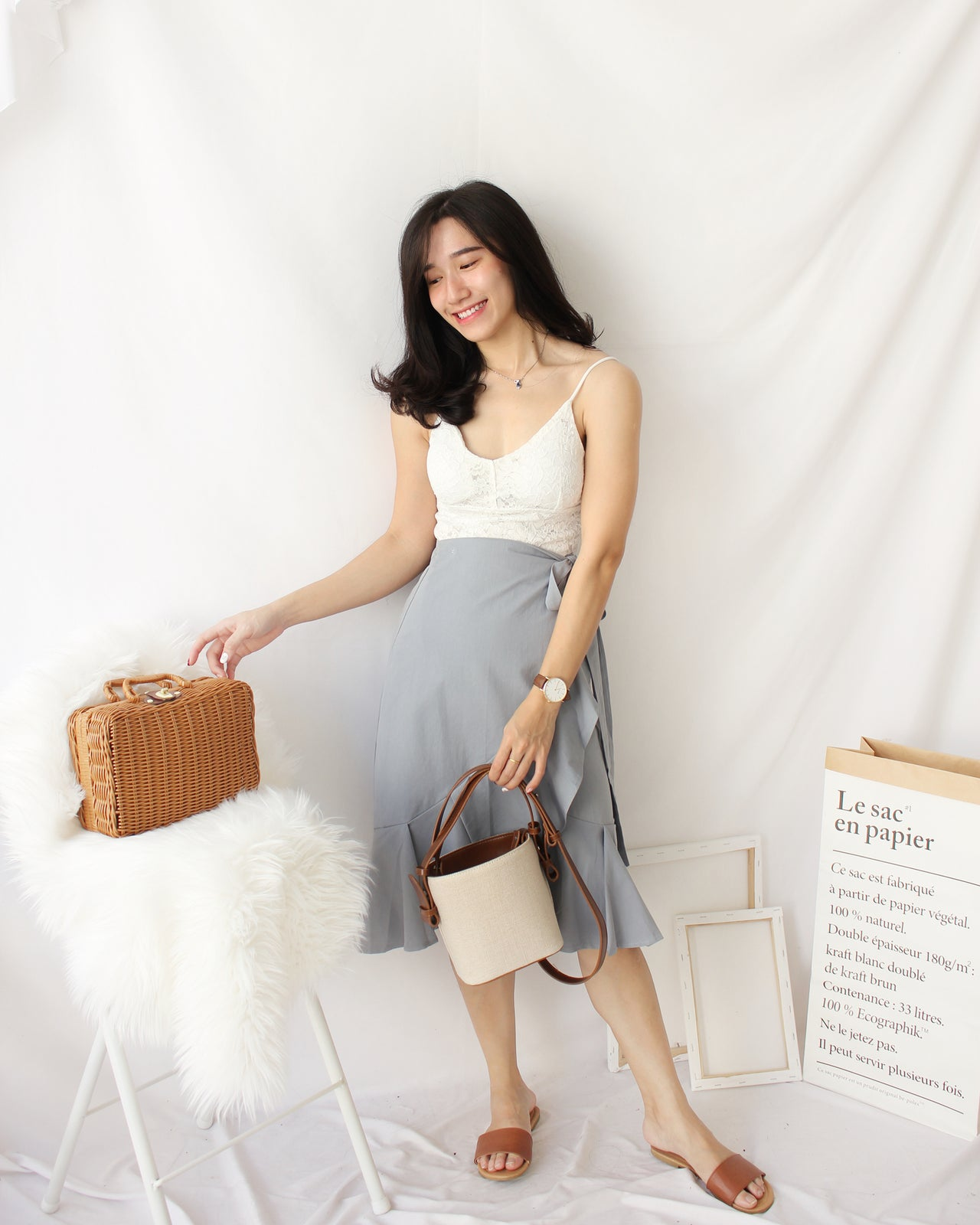 Tina Lacey Padded Tank - LovelyMadness Clothing Online Fashion Malaysia