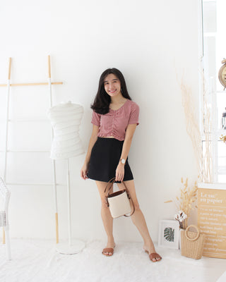 Plaid Top - LovelyMadness Clothing Online Fashion Malaysia