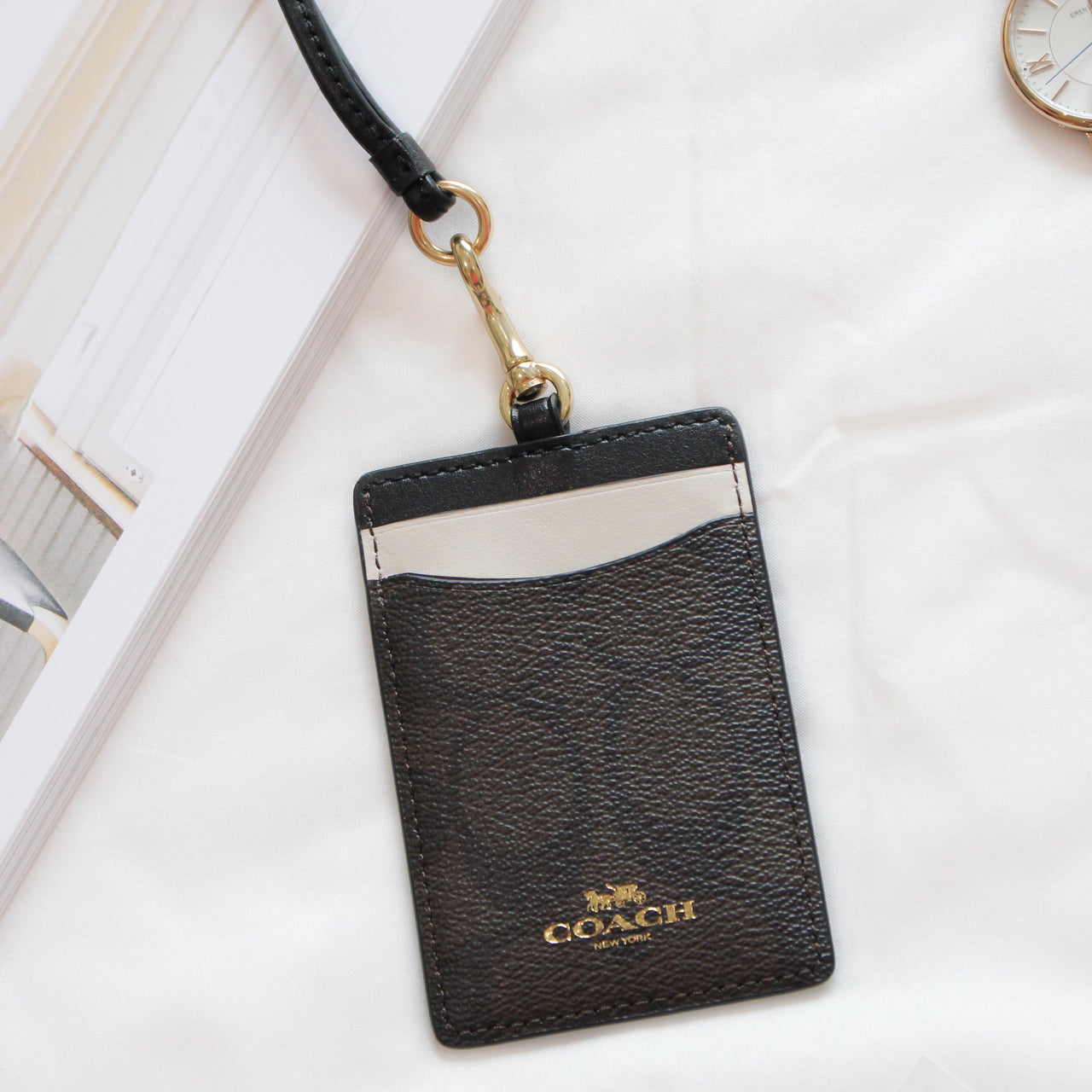 COACH LANYARD ID CASE IN COLORBLOCK SIGNATURE - LovelyMadness Clothing Online Fashion Malaysia