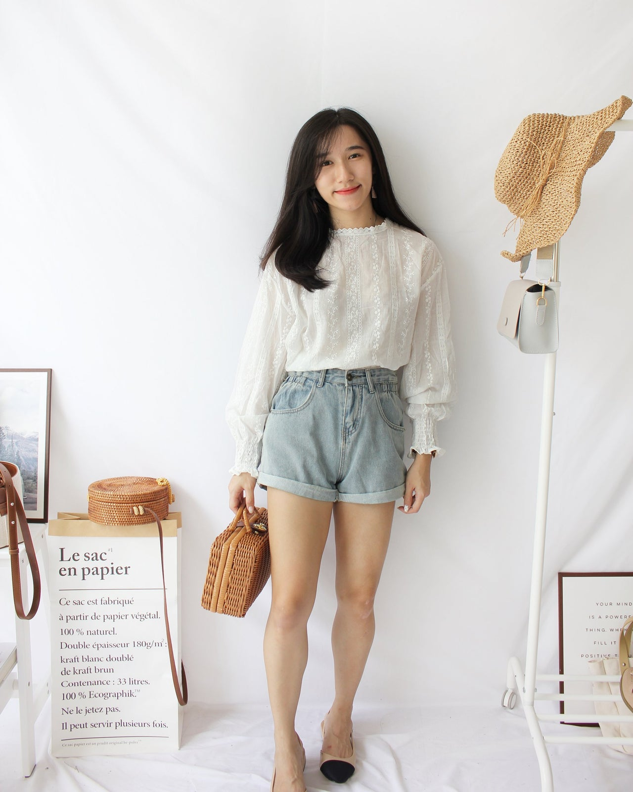 Lily Crochet Sweet Top - LovelyMadness Clothing Online Fashion Malaysia