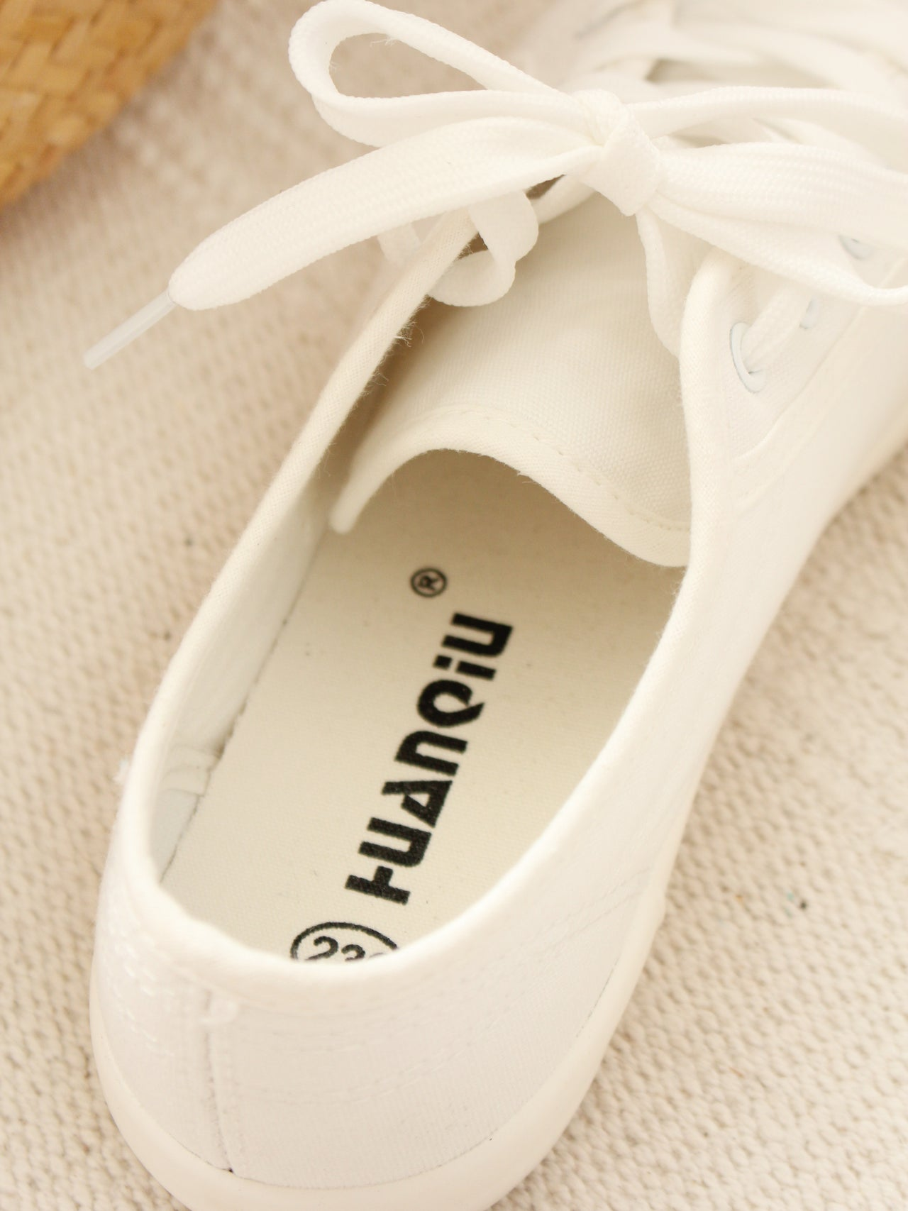Minimal White Sneaker - LovelyMadness Clothing Online Fashion Malaysia