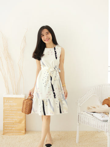 THEOPEN Korean Ramie Dress