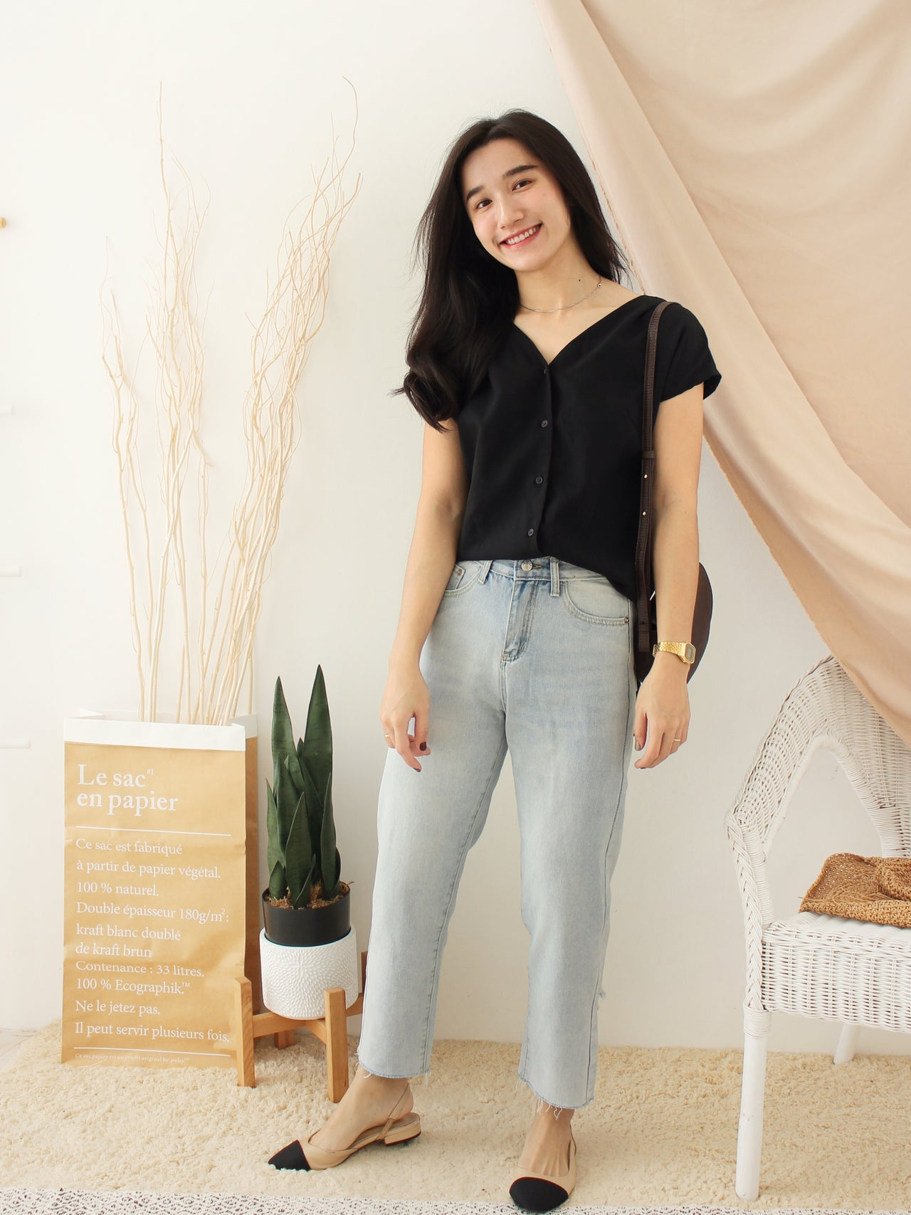 Back Ribbon Jumpsuits - LovelyMadness Clothing Online Fashion Malaysia