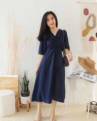 LEAVES Dress + Cardi Set