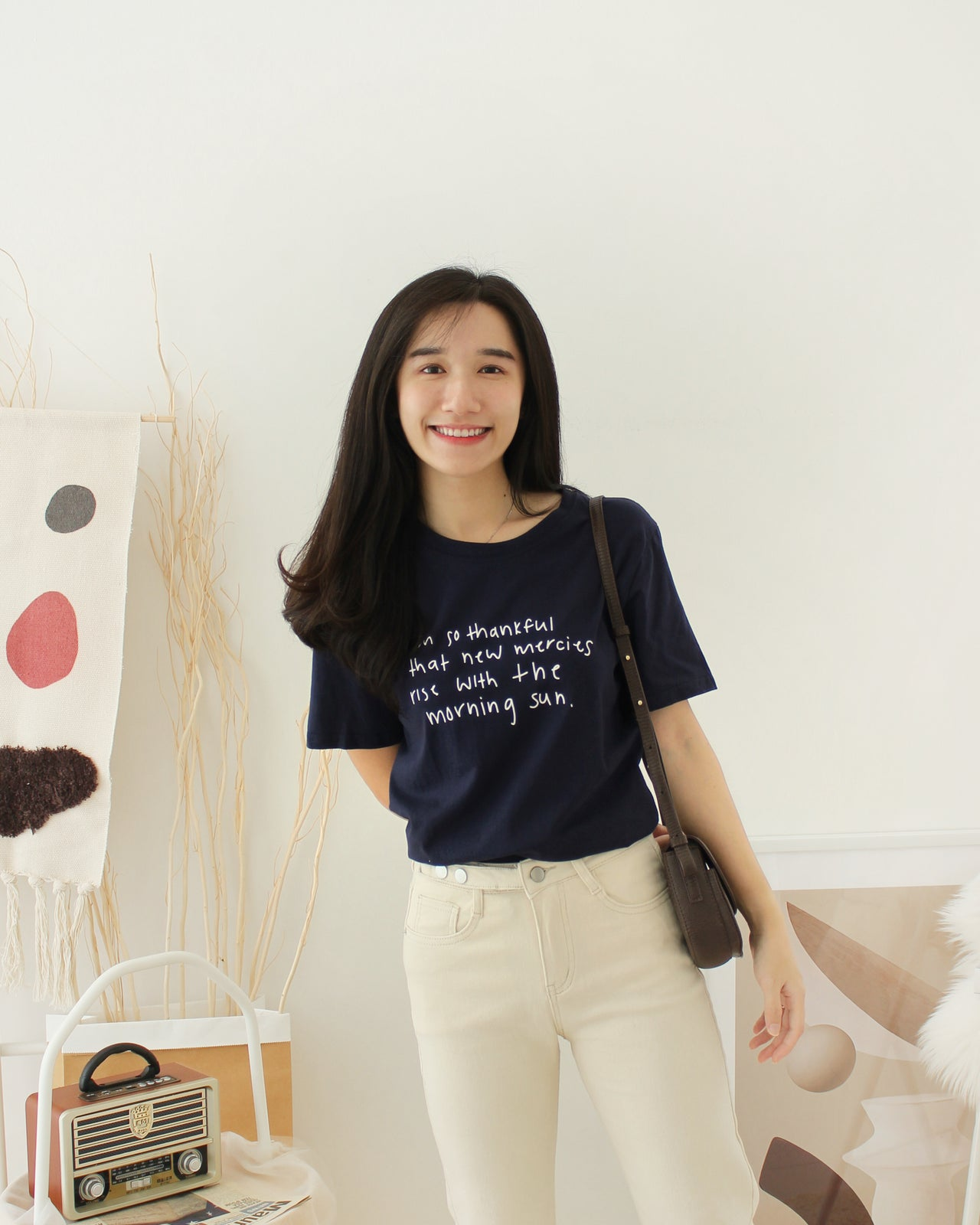 THANKFUL Tee - LovelyMadness Clothing Online Fashion Malaysia