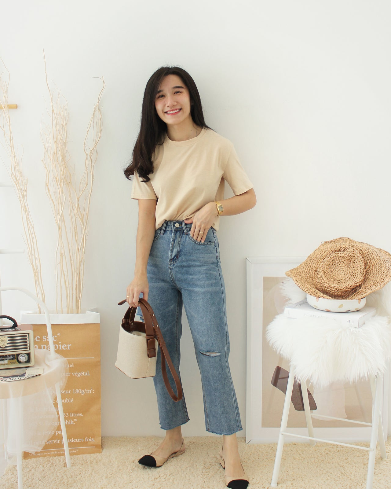 PLAIN TEE SHIRT - LovelyMadness Clothing Online Fashion Malaysia