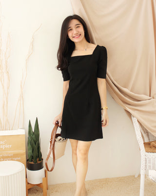 LITTLE France Black Dress