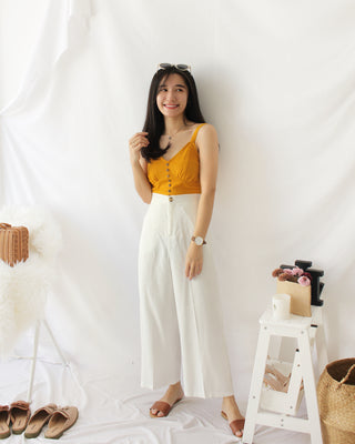 Korean Ramie Culottes - LovelyMadness Clothing Online Fashion Malaysia