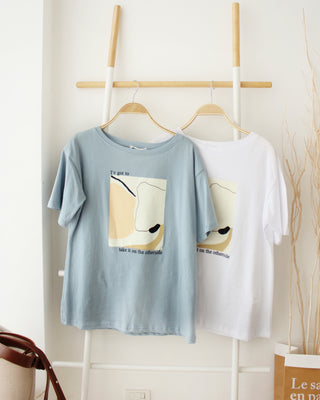 Abstract Tee - LovelyMadness Clothing Online Fashion Malaysia