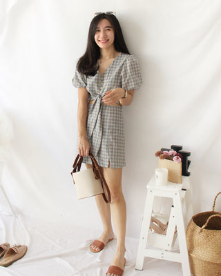 Checkered Skirt Set - LovelyMadness Clothing Online Fashion Malaysia