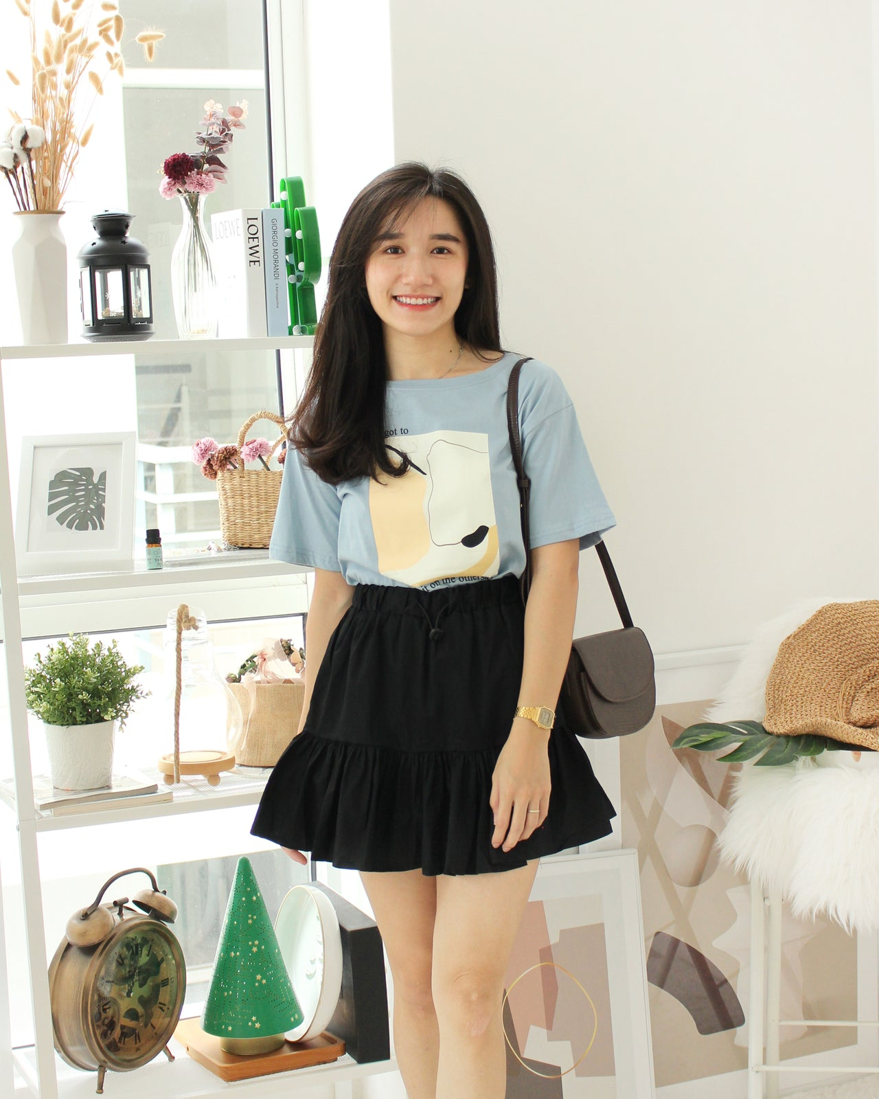 Aria Layer Skirt - LovelyMadness Clothing Online Fashion Malaysia