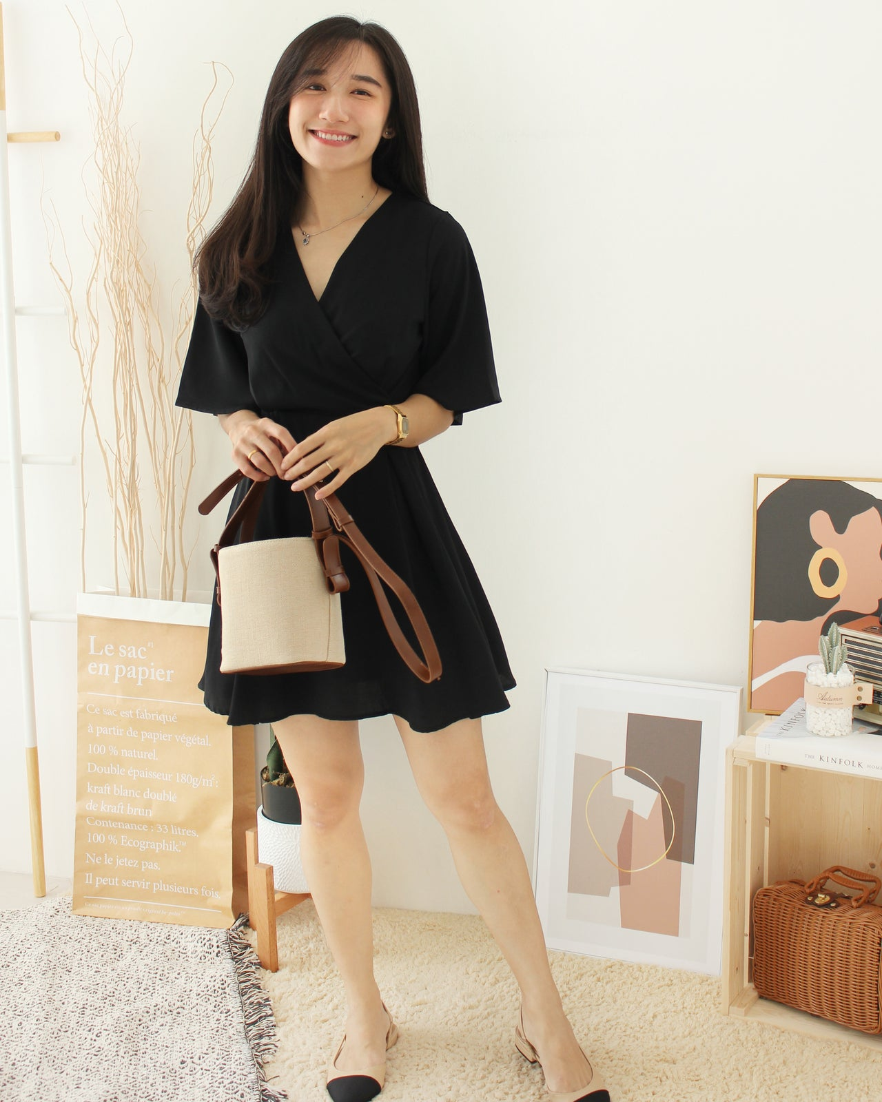 Claudia Korean Flare Dress - LovelyMadness Clothing Online Fashion Malaysia