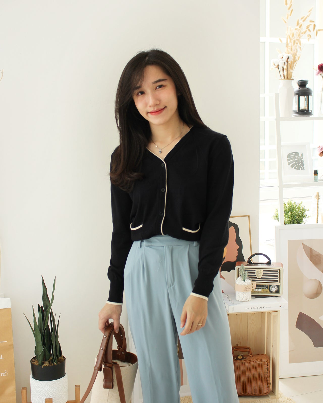 Megan Korean Outer/ top - LovelyMadness Clothing Online Fashion Malaysia