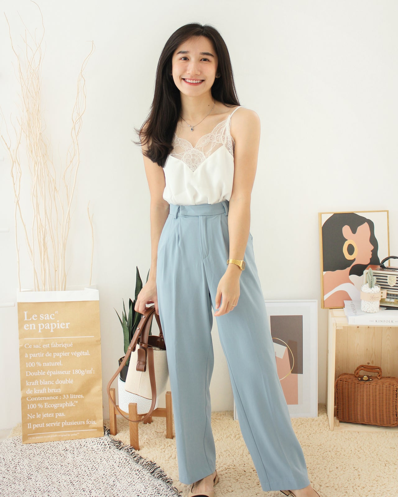MOSES QUEEN Suit Pants - LovelyMadness Clothing Online Fashion Malaysia