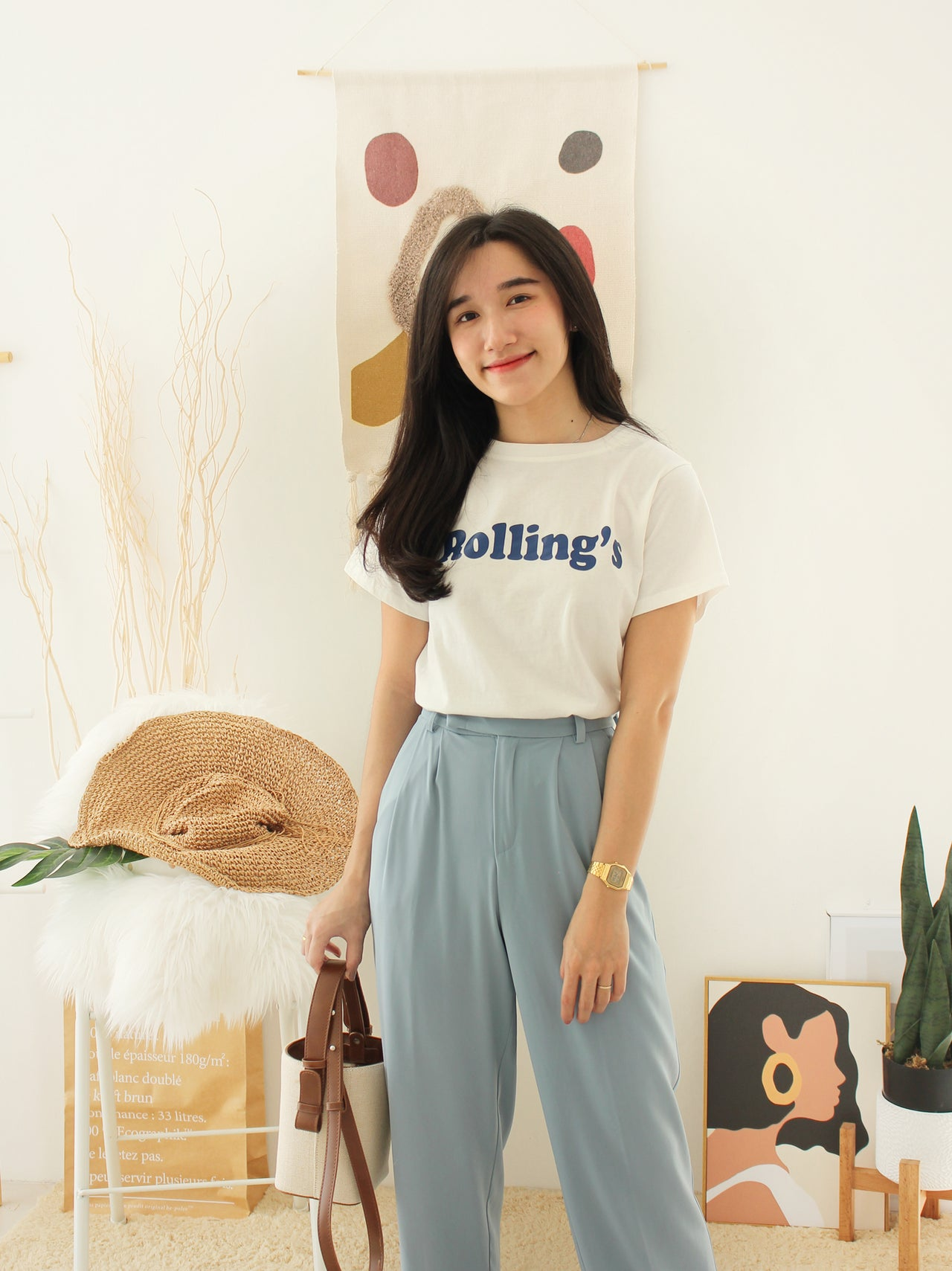 ROLLING'S Tee - LovelyMadness Clothing Online Fashion Malaysia