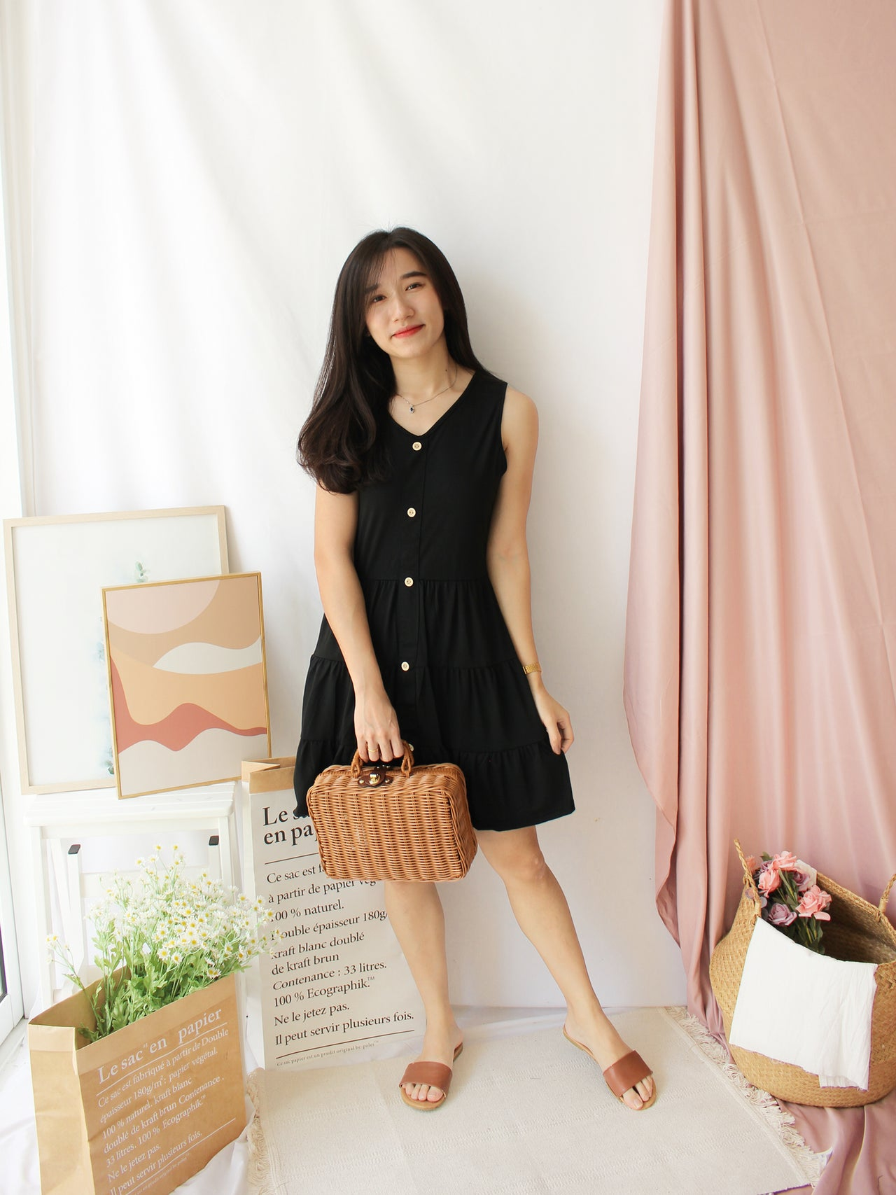 Ginna Layer Dress - LovelyMadness Clothing Online Fashion Malaysia