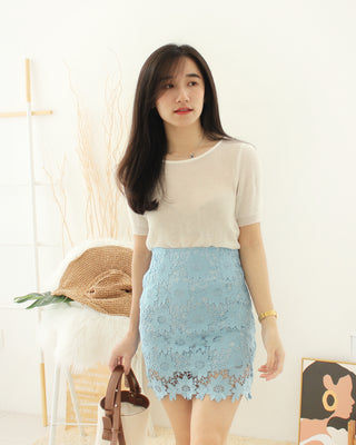 Korean Sheer Top - LovelyMadness Clothing Online Fashion Malaysia