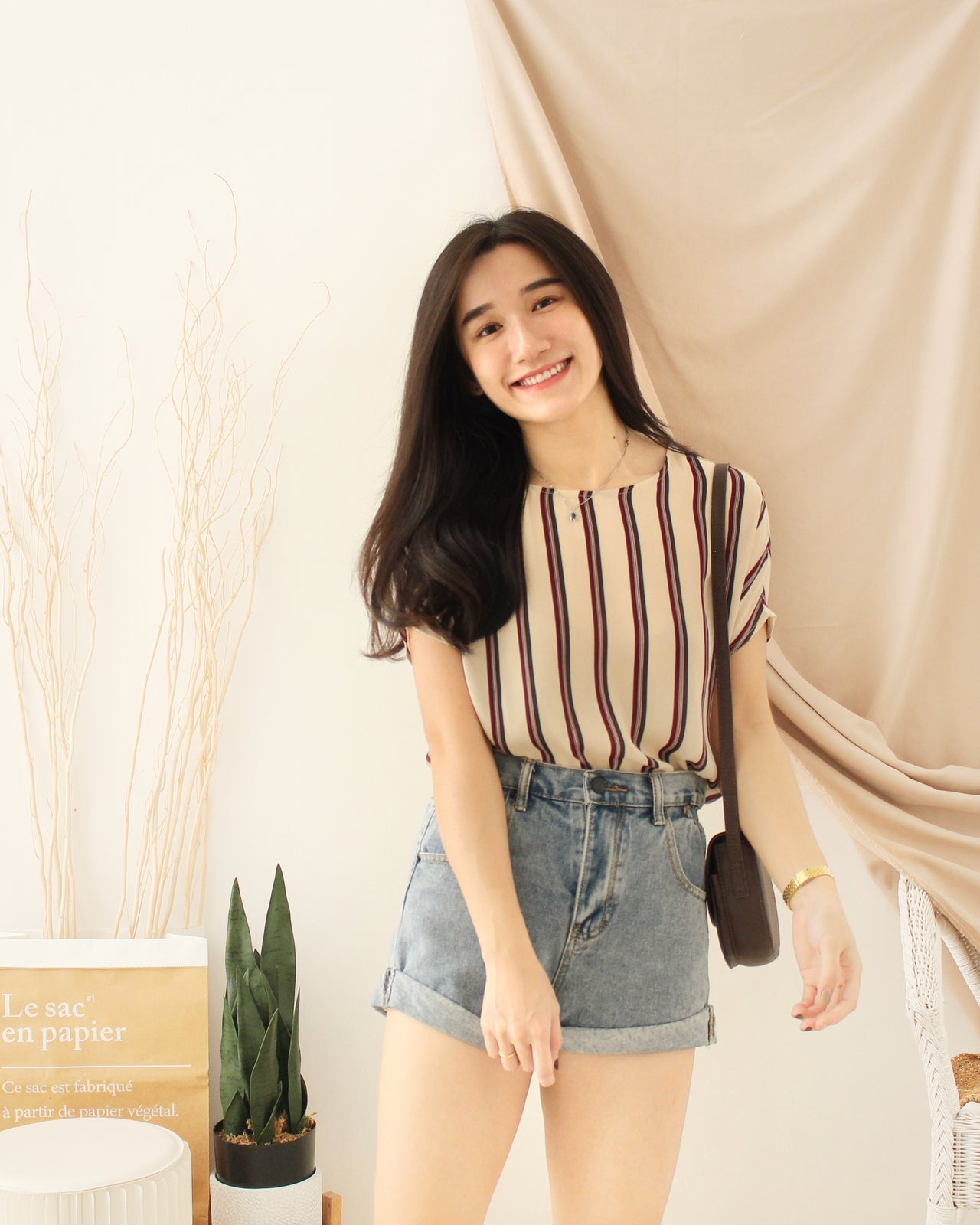 JOEY Stripe Blouse