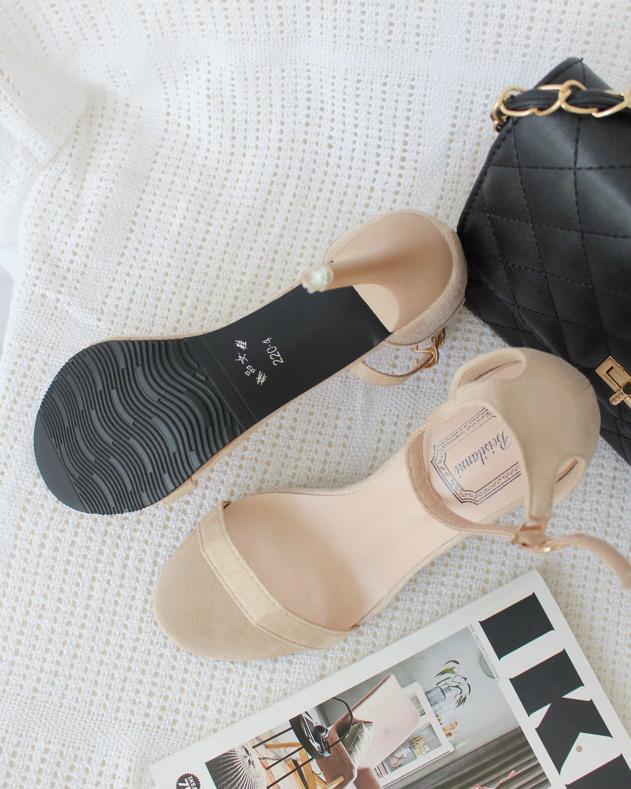 Ankle Strap Heels - LovelyMadness Clothing Online Fashion Malaysia
