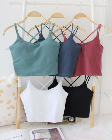 Yoga Cross Back Bra