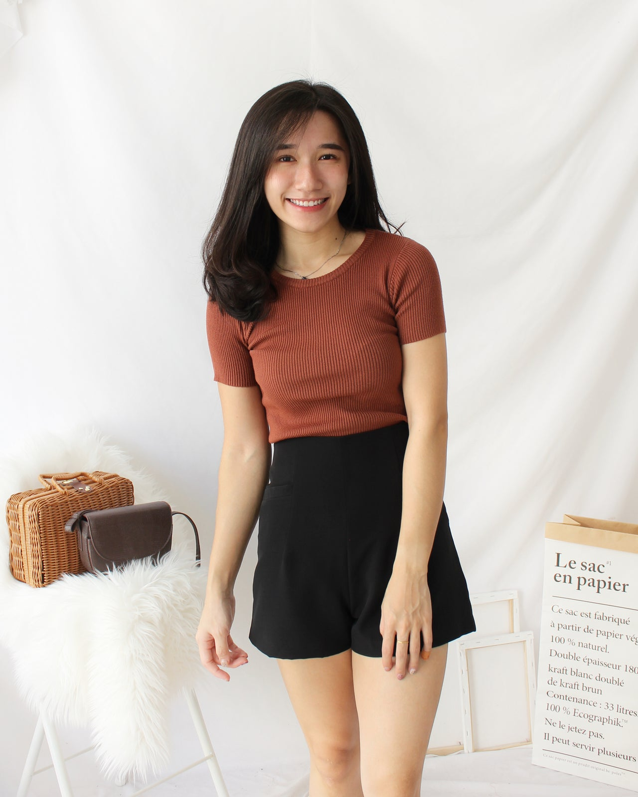 Rib Baby Tee - LovelyMadness Clothing Online Fashion Malaysia