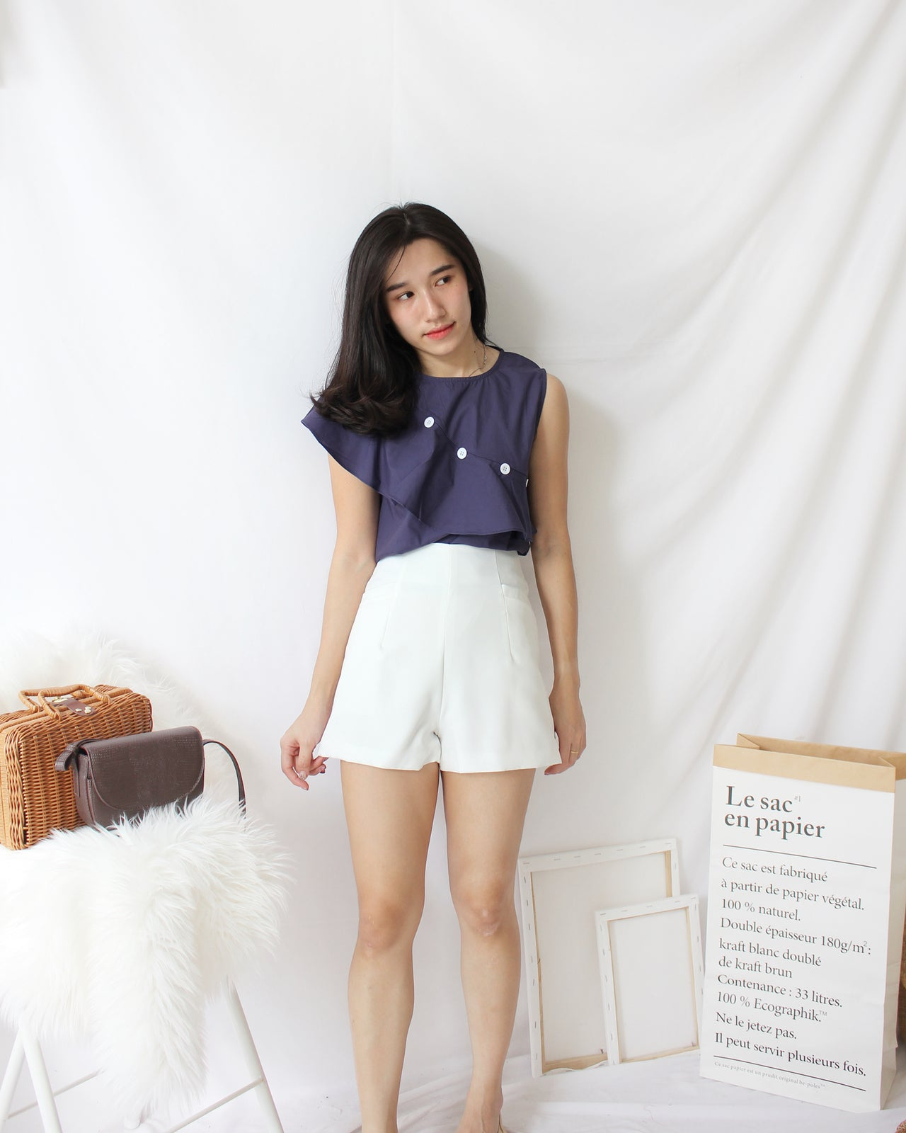 High Waist Pants - LovelyMadness Clothing Online Fashion Malaysia