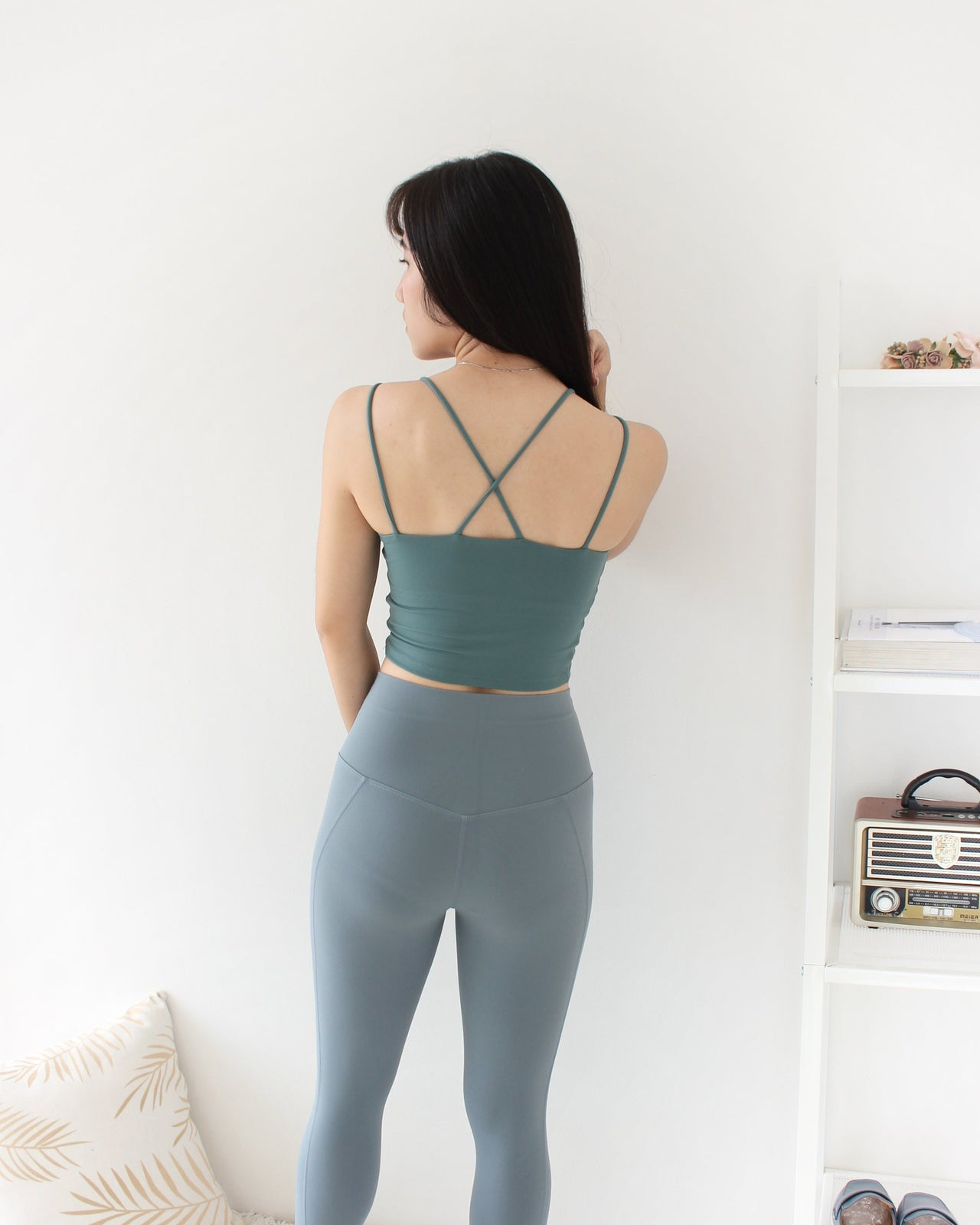 Rina Cross Back Bra - LovelyMadness Clothing Online Fashion Malaysia