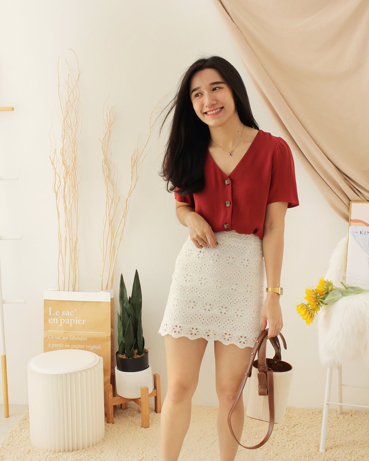 LACEY Alined Skirt