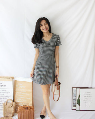Wrap Ribbon Knot Dress