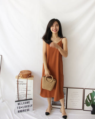 Minimal Spaghetti Dress