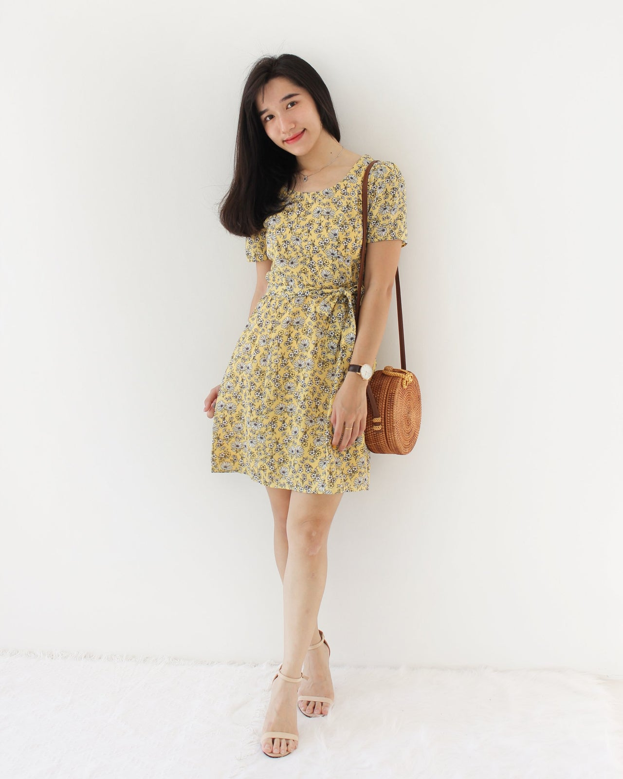 TRIXXI Floral Dress - LovelyMadness Clothing Online Fashion Malaysia
