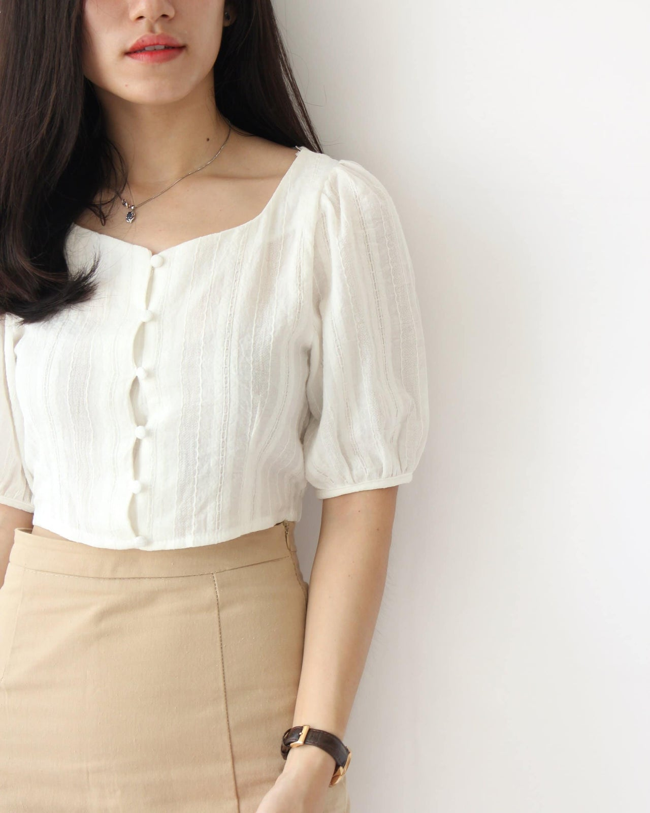 Doris Puffy Top - LovelyMadness Clothing Online Fashion Malaysia