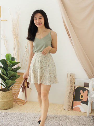 Korea Button Skirt