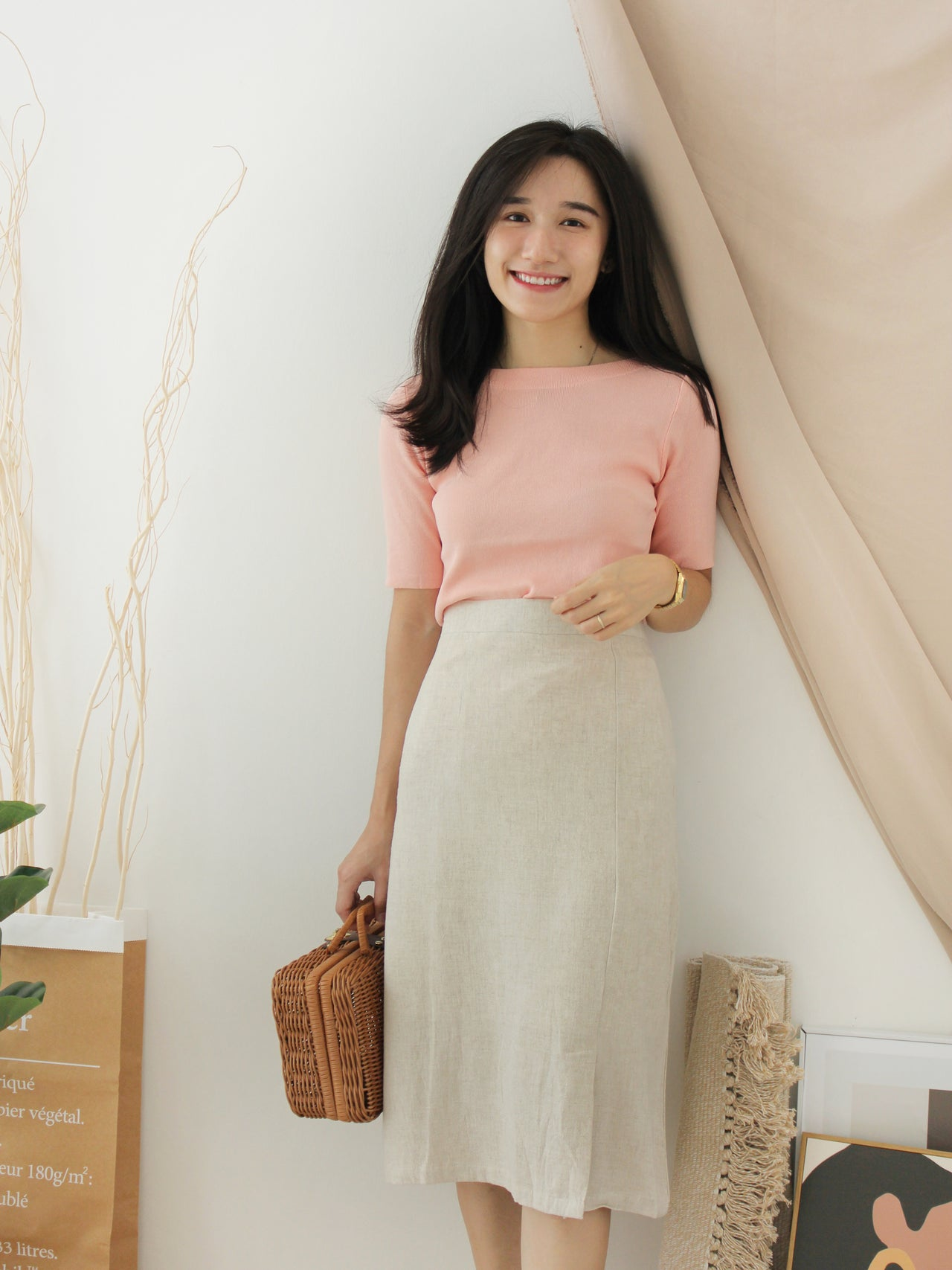 Korean Reign Knitted Top