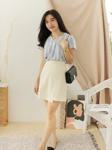 Korean Button Dress