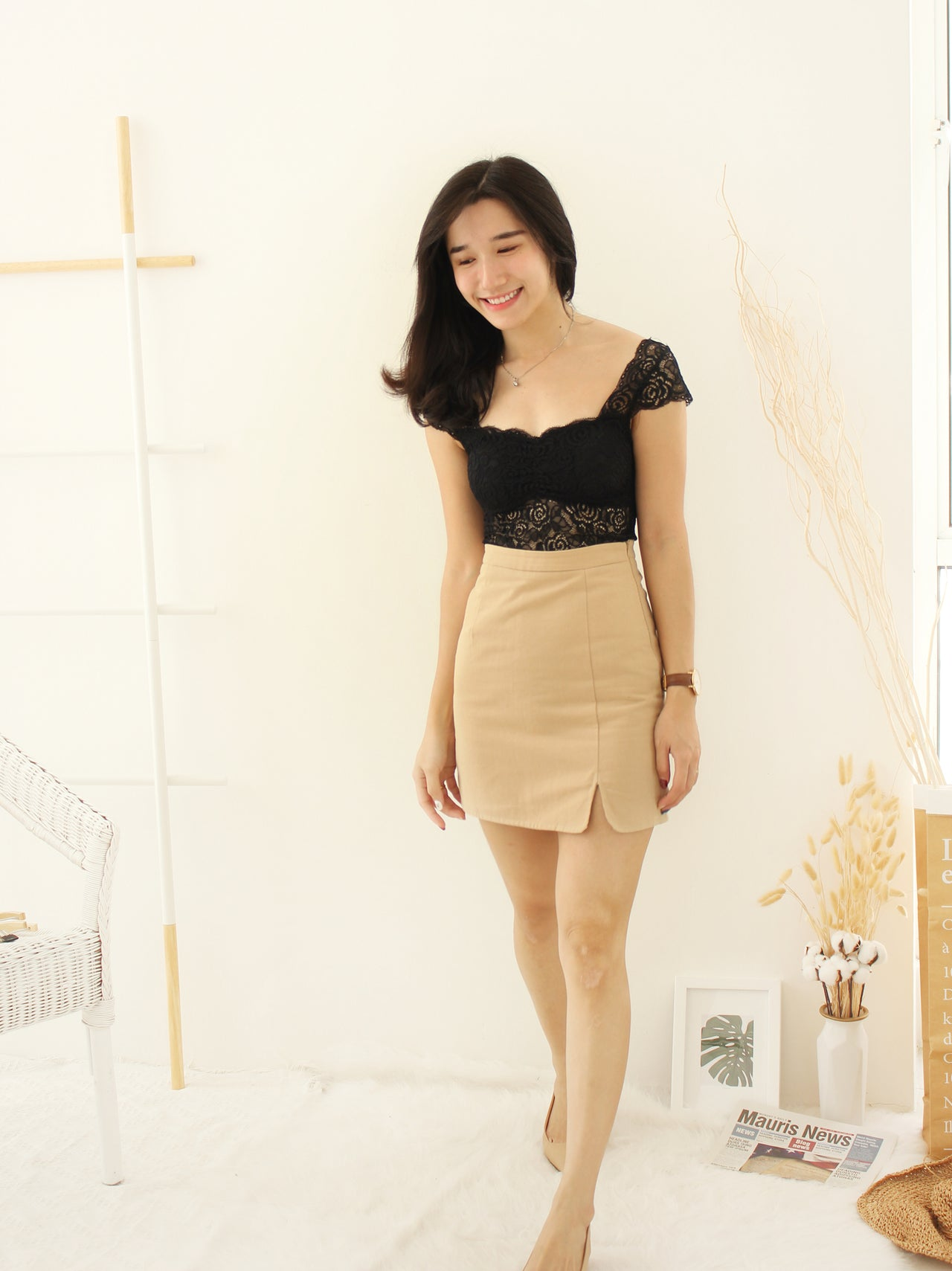 Lace TwoWayTop - LovelyMadness Clothing Online Fashion Malaysia