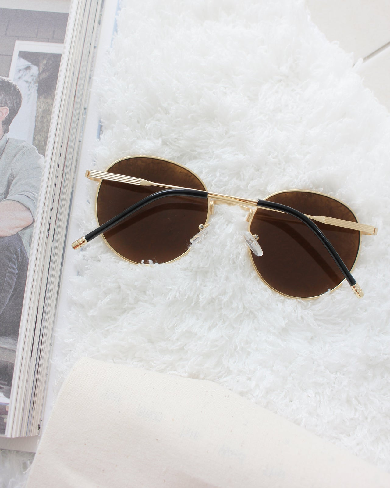 Brownish Sunglass - LovelyMadness Clothing Malaysia