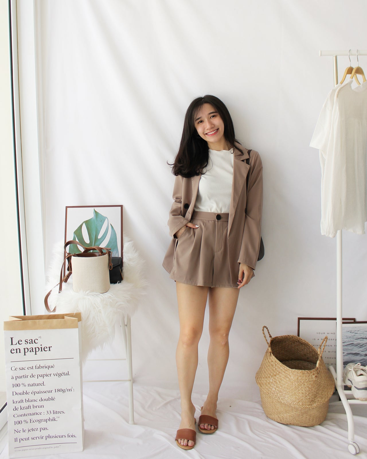 Evelyn Suit Set - LovelyMadness Clothing Online Fashion Malaysia