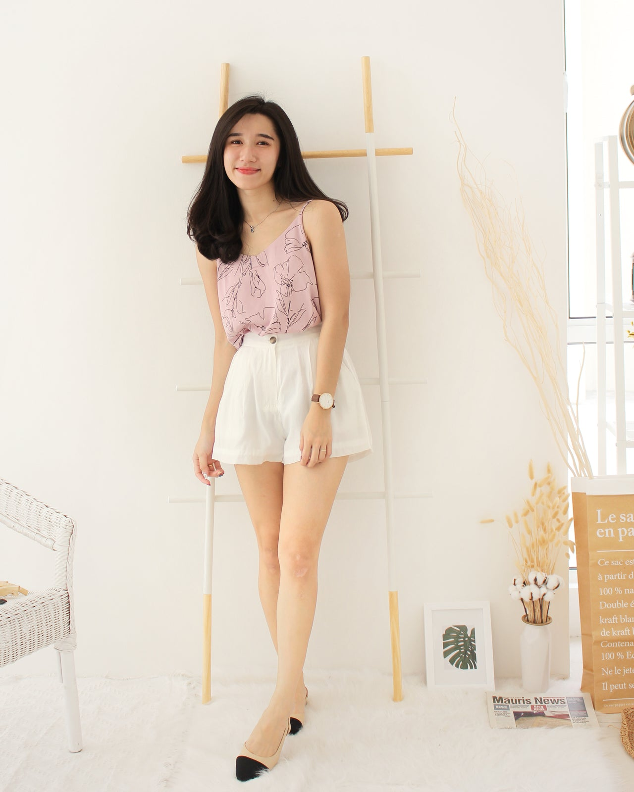 Summer Floral Tank - LovelyMadness Clothing Online Fashion Malaysia